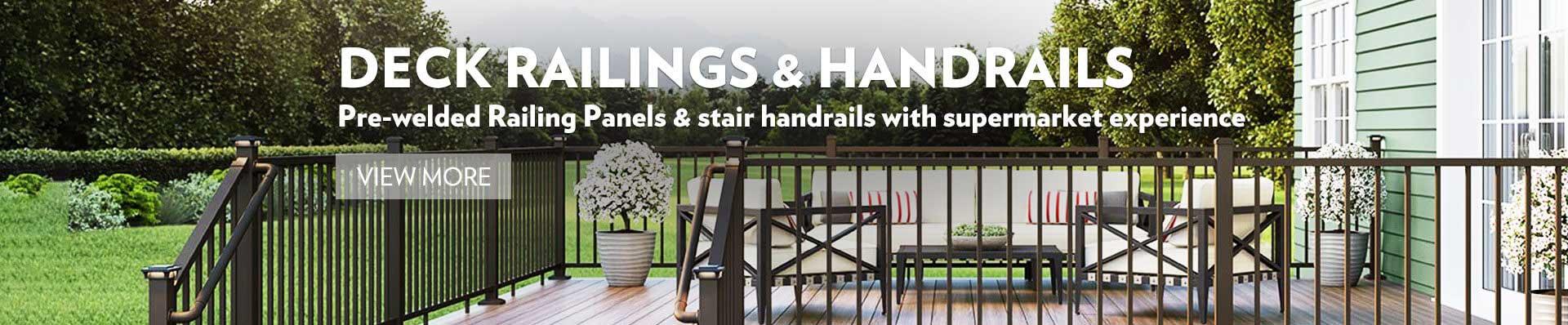 Railings & Handrails