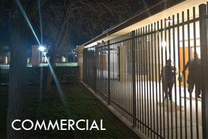 Rod Top Ornamental Steel Fence
