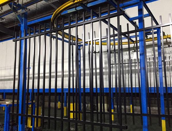 Rod Top Welded Ornamental Steel Fence
