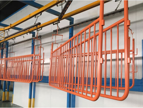 Powder Coated Crowd Control Barriers with Detachable Feets