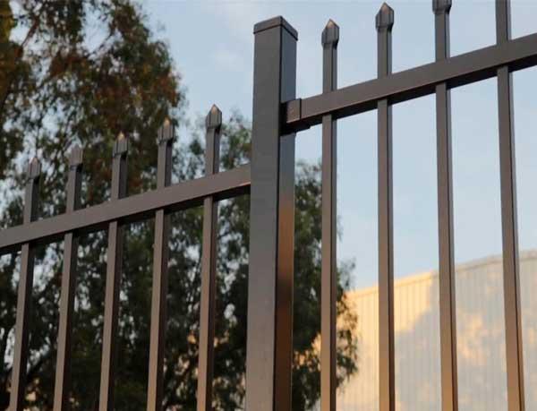 Punch Through Garrison Fence